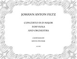 Johann Anton Filtz Concerto in D major for Viola and Orchestra