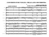 Pierre Gaviniès Concerto for Violin, Cello and Orchestra (Complete Score)