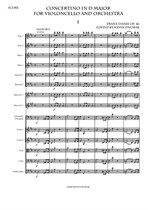 Danzi Concertino in D major for Violoncello and Orchestra (Complete Score)