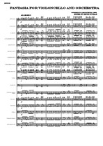 Laboccetta Fantasia for Violoncello and Orchestra (Complete Score)